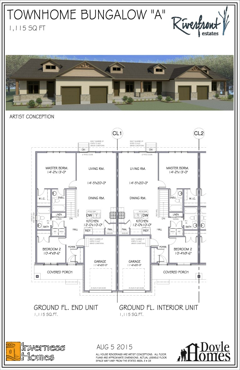 Bungalow Townhome- Model A- August 5 15_Page_1