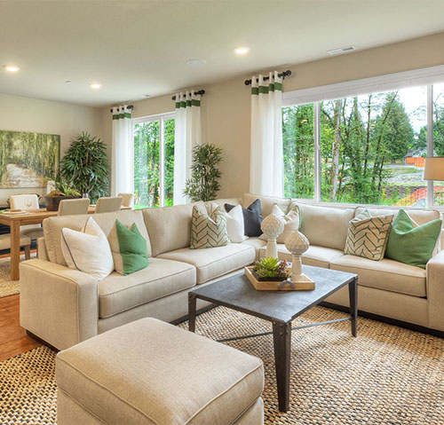 Some of the advantages of having a new home riverfront for New model home interiors